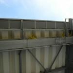 撃退ドットマン ハトの糞害 自動車工場 大分県大分市 平成22年6月